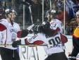 Latvijas hokeja izlase pārliecinoši uzvar Vāciju