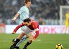 """""""Lazio"""" uzvar Romas derbijā un sper soli pretī finālam"""