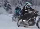 Foto: Skijoringa cīņas Lēdmanē