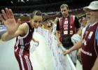 Foto: Latvija uzvar Horvātiju un iekļūst nākamajā kārtā