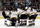 NHL asi vēršas pret sitieniem pa galvu, ievieš citas izmaiņas noteikumos