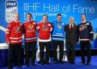 IIHF Slavas zāli papildina piecas leģendas, arī Pāvels Burē