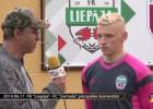Video: Dobrecovs: Liepājas komanda par sevi ir pārliecināta