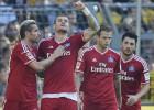 Rudņevam dažas minūtes, HSV gūst pirmo uzvaru sezonā