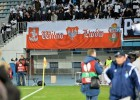 """""""Legia"""" atkal izaicina UEFA dusmas ar Viļņas un Ļvivas plakātu Polijas krāsās"""