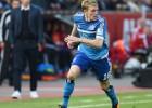 """Rudņevs paliek rezervē, HSV iesit trīs vārtus grimstošajai """"Hannover"""""""