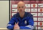 """Video: Astafjevs: """"Neesmu apmierināts ne ar rezultātu, ne ar sniegumu"""""""