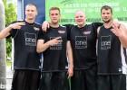 """""""One Design"""" basketbolistiem 2. vieta Igaunijas 3x3 čempionātā Tartu"""