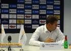"""Video: Volčeks: """"Šajā spēlē bijām pelnījuši ko vairāk"""""""