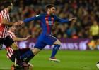 "Mesi atkal realizē brīvsitienu, ""Barcelona"" nervozi pārvar ""Athletic"" barjeru"
