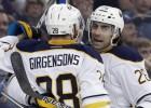 "Girgensonam sezonas desmitais punkts, ""Sabres"" zaudē Tampai"