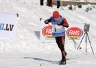 Igaunijas slēpošanas seriāla 4.posmā Latvijas jauniešiem viena godalga