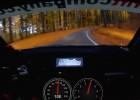 Video: Rallija pilots uz šaura meža ceļa sasniedz 206 km/h