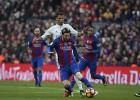 """Sezonas otrais <i>El Clasico</i>: """"Real"""" ar Beilu uzņems """"Barcelona"""" bez Neimāra"""