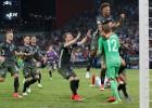 Euro U21: Elpu aizraujošā 54 sitienu trillerī Vācija pendelēs aizsūta Angliju mājās