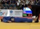Video: Gerkens zaudē Eiropas jaunatnes olimpiādes bronzas mačā