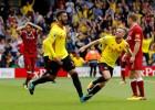 """""""Watford"""" izlaiž pārsvaru, nonāk iedzinējos, taču beigās izrauj neizšķirtu pret """"Liverpool"""""""