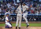 """Ņujorkiešu duelī šosezon """"Yankees"""" pārspēj """"Mets"""""""