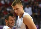 Video: Porziņģis neapturams, Blūms uguņo, Latvija svin ceturto uzvaru