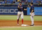 """""""Red Sox"""" uzvar kārtējā maratonā, pārtrūkst """"Indians"""" uzvaru sērija"""