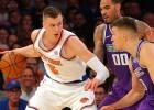 """Porziņģis ar 34 punktiem kaldina """"Knicks"""" uzvaru pār Sakramento"""