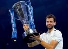 """Dimitrovs debijas turnīrā kļūst par """"ATP Finals"""" čempionu"""