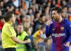 """Mesi neieskaita tīrus vārtus, """"Barcelona"""" izglābjas no zaudējuma Valensijā"""