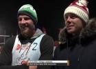 """Video: Finsters un Solovejs: """"Prioritāte ir pludmale, sniega volejbols bonusiņš"""""""