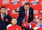 Krievijas hokejisti pirmajā pārbaudes mačā pārspēj Baltkrieviju