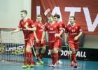 Finālturnīram kvalificējas arī Dānijas un Šveices izlases