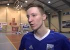 """Video: Artūrs Kuļešovs: """"Šī bija viena no grūtākajām uzvarām"""""""