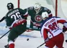 """""""Ak Bars"""" KHL finālsērijas pirmajā mačā pieveic CSKA"""