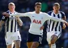 """""""Stoke"""" izkrīt no Premjerlīgas, WBA pieveic """"Tottenham"""" un saglabā cerības"""