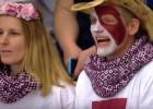 Video: PČ kolorītāko fanu apkopojumā arī Latvijas izlases cienītāji
