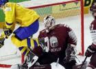 Merzļikins labākais arī pret zviedriem, lietotāji novērtē arī vārtu guvējus
