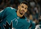 """""""Sharks"""" un no """"Sabres"""" iemainītais uzbrucējs Keins tuvojas septiņu gadu līgumam"""