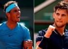 """Māla karalis pret māla princi cīņā par """"French Open"""" kroni"""