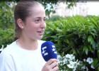 """Video: Vesņina Ostapenko: """"Tu droši vien nemaz nezini, kas ir Džastins Timberleiks"""""""