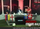 """Video: """"Gols! Uj, Štanga!"""": Buļs paredz Anglijas zaudējumu pamatlaikā"""