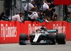 Pēc lietus sarūpētas drāmas Vācijā uzvar Hamiltons