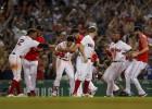 """""""Red Sox"""" četru maču sērijā <i>aizslauka</i> """"Yankees"""""""