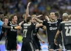 """""""Ajax"""" pēc četru gadu pauzes kvalificējas Čempionu līgas grupu turnīram"""