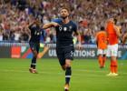 Žirū ļauj pasaules čempionei Francijai izcīnīt pirmo uzvaru Nāciju līgā