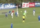 Video: Slovākijas U21 izlases vārtsargs gūst vārtus