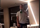"""Video: """"Monaco"""" iesvētībās Golovins izpilda """"Prāta Vētras"""" dziesmu"""