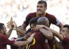 """""""Roma"""" pēc ieilgušas krīzes triumfē galvaspilsētas derbijā pār """"Lazio"""""""