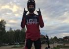 BMX riteņbraucējs Glāzers jau pirmajā dienā uzvar jaunatnes olimpiādē