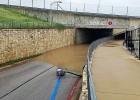 Tuvojoties F1 posmam, Ostinas trasē valda plūdi