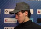 """Video: Brūveris: """"Krievu hokejs ir nežēlīgs, bet man patīk spēlēt MHL..."""""""