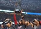 """""""Red Sox"""" piekto spēli uzvar ar 5:1 un triumfē Pasaules sērijā"""